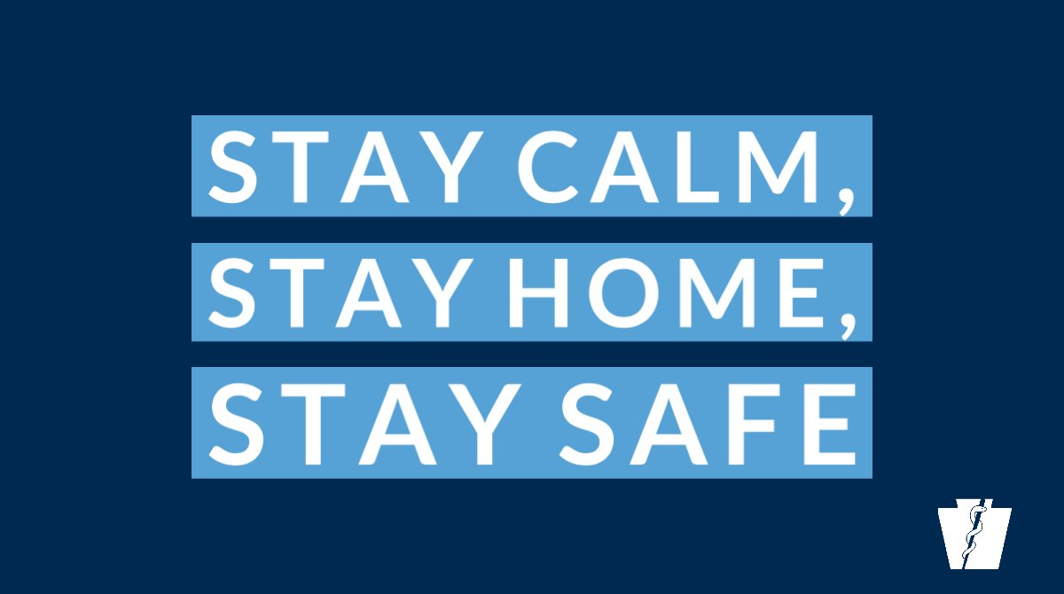 Stay Home, Stay Safe!